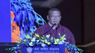 WAPCOS Golden Jubilee Celebration, Address by Sh. Dasho Yeshi Wangdi, Hon'ble Secretary, Ministry of Economic Affairs, Royal Government of Bhutan